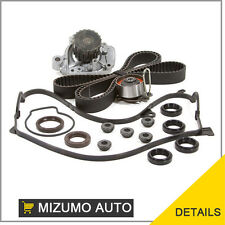 Fit 01-05 Honda Civic VTEC 1.7 D17A Timing Belt Kit Water Pump Cover Gasket