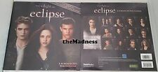 ECLIPSE TWILIGHT SAGA 16 MONTH 2011 WALL CALENDAR NEW SEALED PATTISON STEWART