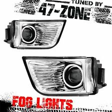 Stealth For 2003-2005 Toyota 4Runner Clear Lens Chrome Housing Fog Lights Lamps