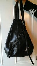 Hobo international Black Leather backpack purse