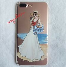 FASHIONISTA IPHONE 7 SOFT CLEAR CASE- SUMMER OOTD