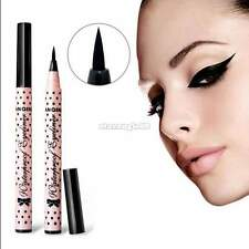 ♥♥ Donna Nero Eyeliner Waterproof Liquid Matite occhi Penna Make Up Cosmetici