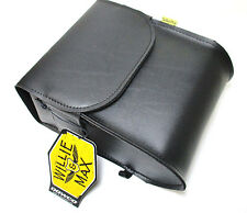 Willie & Max Raptor motorcycle sissy bar bag SBB472 burr touch close flap
