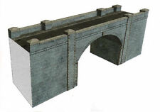 OO Building Card kit - Blue Brick Bridge & Tunnel - Superquick A15 - free post
