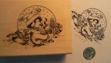 P36 Penguin Christmas  rubber stamp