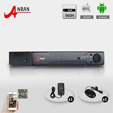 Home Security 8CH D1/960H H.264 25fps realtime network DVR for Wired CCTV Camera