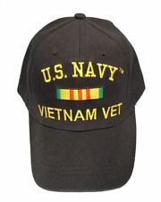 Officially Licensed US Navy Vietnam Veteran Cap 271-BLK