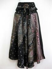 Women Sarong Long Skirt coconut Hippie Gypsy Lagenlook Bohemian Boho Smock Thai