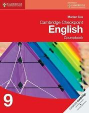 Cambridge Checkpoint English Coursebook 9 by Marian Cox (2014, Paperback) New