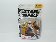 Star Wars Cartoon Network Clone Wars Red Clone Arc Trooper Action Figure