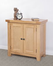 Devon Oak  2 door cupboard with internal shelf.   DEV-35