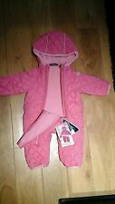 Snozu-Infant-Girls-1-Piece-Snow-Suit-Pink -3 to 6 Months