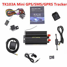 Hot GPRS GSM SMS Vehicle Car GPS Tracker TK103A Tracking Device Alarm System Acc