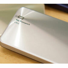 WD My Passport Ultra Metal Portable External Hard Drive Password USB3 1TB Silver