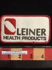 Vtg. Patch ~ LEINER HEALTH PRODUCTS Carson CA Vitamins (Meth Lawsuit 2003) 5NU3