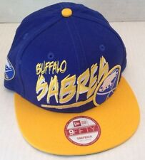 Buffalo Sabres Size S/M Yrellow and Navy Hat New ERA 9fifty Snapback