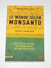 MONSANTO Dioxine OGM Roundup PCB Hormone de croissance bovine Blé transgénique