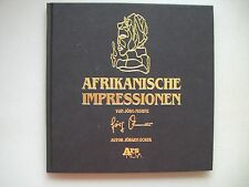 Afrikanische Impressionen Jörg Mohme 1989 nummerierte Ausgabe Afrika signiert