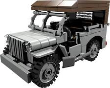 CUSTOM building INSTRUCTION - WILLYS JEEP roof to build out of LEGO® parts