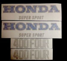 Honda cb400 F 1975&1976 Red Model  Decals Kit Honda CB400F Honda 400/4