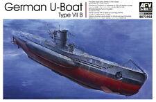 AFV Club 1/350 SE73502 WWII German U-Boat Type VII B