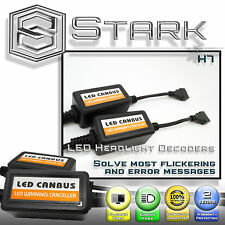 PAIR LED Headlight Canbus Error Free OBC Anti Flickering Resistor Decoder - H7
