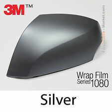10x20cm FILM Matte Silver 3M 1080 M21 Vinyle COVERING New Series Wrap