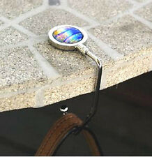 Purse Hanger *Authentic Aanraku* Clear Glass Circle Included