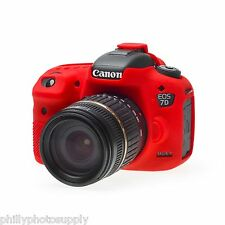 easyCover Armor Protective Skin for Canon 7D Mark II Red - Free US Shipping