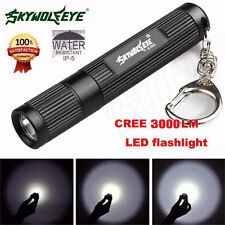 3000LM Zoomable CREE XML Q5 LED Flashlight 3 Modes Torch Super Bright Light Lamp
