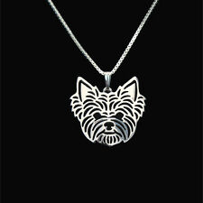 Yorkshire Terrier Silver Charm Pendant Necklace, gifts for her, friend gifts