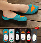 New Men Loafer Boat Invisible Casual No Show Nonslip Liner Cotton Low Cut Socks