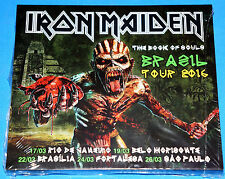 Iron Maiden - TheBook of Souls - Brasil Tour 2016 2CD SPLICASE SEALED Limited Ed