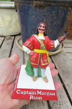 Scarce  Small 4 .5 inch CAPTAIN MORGAN RUM  Advertising bar back figure