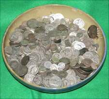 5 Ounce Lot US 90% Silver Coins Halves, Quarters, & Dimes Good Junk Bullion