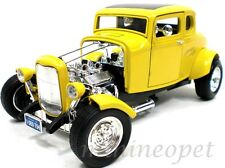 MOTORMAX 73100A AMERICAN GRAFFITI 1932 FORD COUPE 1/18 DIECAST YELLOW