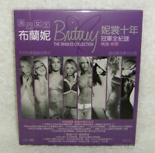 Britney Spears The Singles Collection Taiwan CD+DVD w/BOX