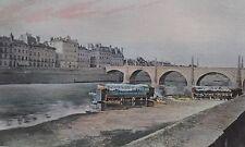 CHALON-sur-SAONE Pont St Laurent PHOTOGRAVURE la FRANCE de l' EST C.GILLOT XXéme