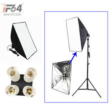 Photo Studio kit Lighting Softbox 50*70cm/+ 4in1 E27 Socket Lamp Head Holder