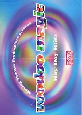 MOVING SHADOW VOODOO MAGIC Rave Flyer Flyers 7/5/95 A4 Equinox London