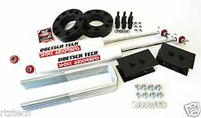 "F150 09-15 LIFT KIT 3"" SPACERS DOETSCH TECH SHOCKS 3.5"" BLOCKS 2"" LIFT 4WD USA"