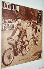 BUT ET CLUB N°260 1950 CYCLISME BOBET AS SERES FOOTBALL RACING LILLE RENNES