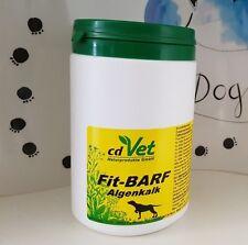 cdVet Fit-BARF Algenkalk 850g Barf barfen Calcium Knochen Futterzusatz