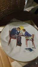 """1982 """"Four Seasons"""" Ltd Edition Norman Rockwell Collector China Plates by Gorham"""