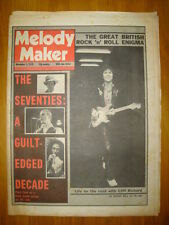 MELODY MAKER 1979 NOV 3 CLIFF RICHARD BOWIE QUEEN 2TONE