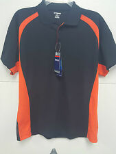 TONIX POLO SHIRT DRY TECH OFFICE WORK TEAM APPAREL ORANGE BLACK LADIES KTM ORNG