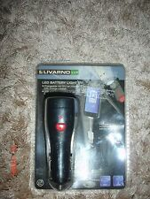 Livarno Lead BATTERY LIGHT,CHARGEABLE VIA 12V CAR CHARGER WITH CHARGE CONTROL