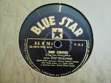 "10"" 78RPM - DON BYAS REE BOPPERS - RED CROSS (BLUE STAR B.S. No.28) FRENCH ISSUE"