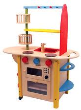 Kinder-Holz-Küche Waschmaschine Herd Puppen-Küche Spielküche Puppenkinder