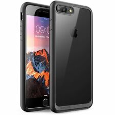 Apple iPhone 7 Plus Carcasa Slim Fit Cubierta de parachoques claro Protector Duro Agarre